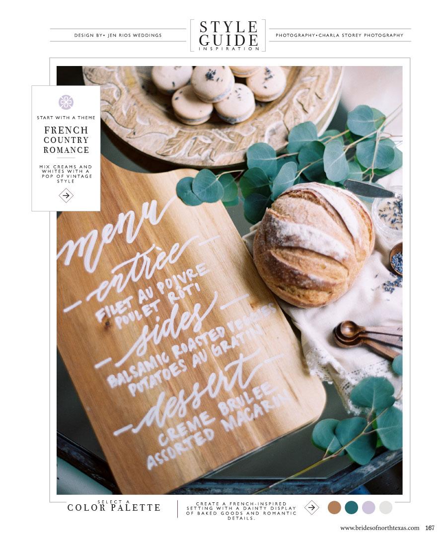 Print Press French Style Guide Jen Rios Weddings